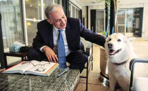 Israeli PM Benjamin Netanyahu adopts mixed breed Kaiya.