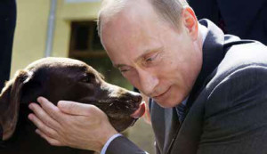 Koni is the most trusted dog of Russian president Vladimir Putin.